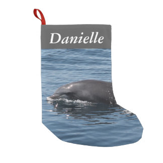 Dolphin Small Christmas Stocking