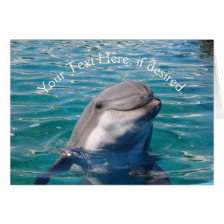 Dolphin Smile Card