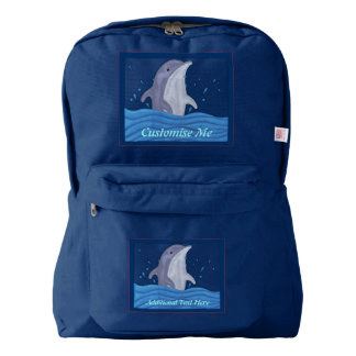 Dolphin Splash Backpack