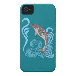 Dolphin Splashing iPhone 4 Cases
