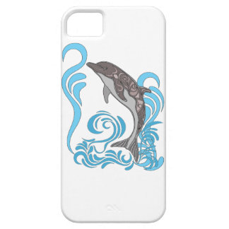 Dolphin Splashing iPhone 5 Cases