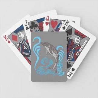 Dolphin Splashing Poker Deck