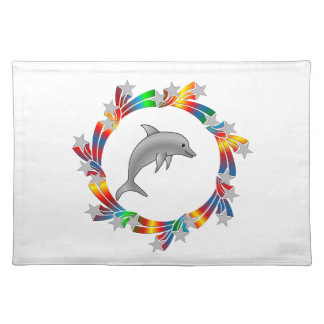 Dolphin Stars Placemat