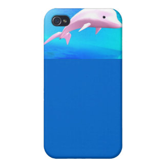 Dolphin-Themed Cellphone Case iPhone 4 Covers