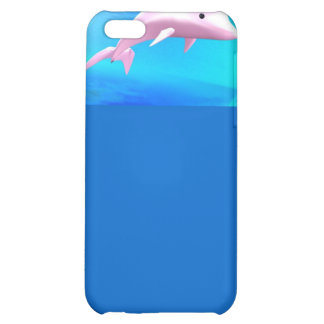Dolphin-Themed Cellphone Case Cover For iPhone 5C