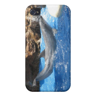 Dolphin Tricks iPhone Case Case For iPhone 4