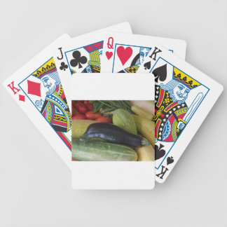 Dolphin Zucchini Bicycle Playing Cards