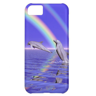 Dolphins and Rainbow iPhone 5C Case