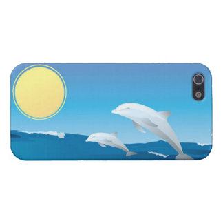 Dolphins at Play iPhone 5 Case