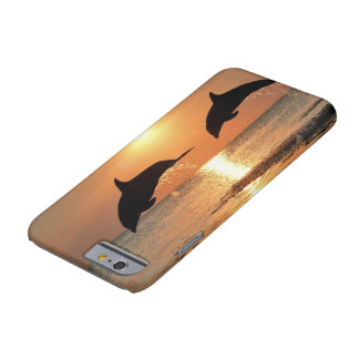 Dolphins by Sunset iPhone 6/6s Barely There iPhone 6 Case