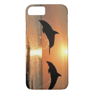 Dolphins by Sunset iPhone 7 Case