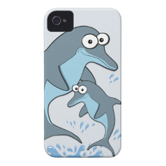 Dolphins Case-Mate iPhone 4 Case