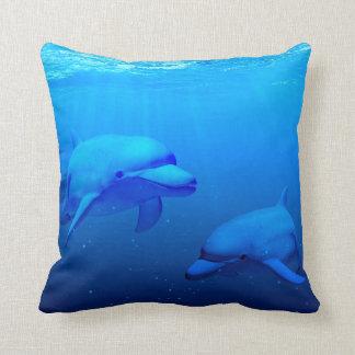 Dolphins Cushion
