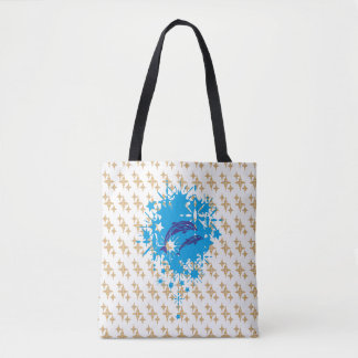 Dolphins Delight Tote Bag