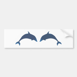 Dolphins dolphins bumper sticker