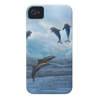 Dolphins fantasy iPhone 4 cover