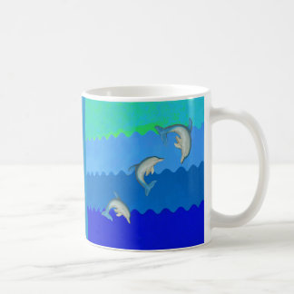Dolphins (Floridia and Mississippi).jpg Coffee Mug