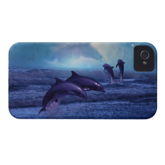 Dolphins fun and play iPhone 4 case