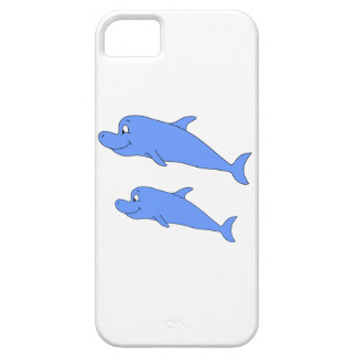 Dolphins in blue. iPhone 5 covers