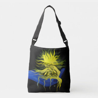 Dolphins in the Sunshine with Hand Crossbody Bag