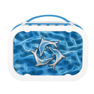 Dolphins in Water Lunch Box