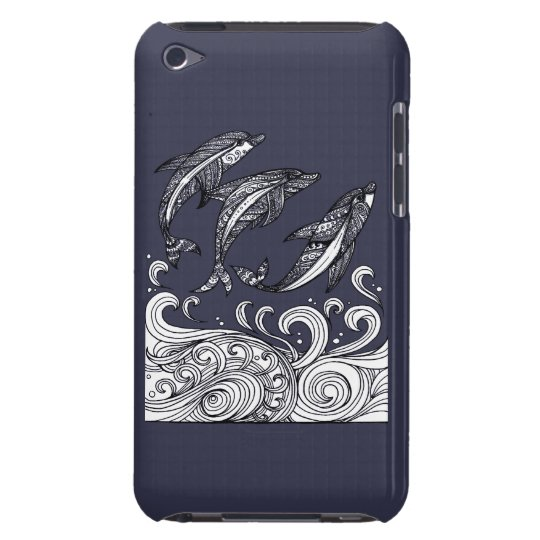 Dolphins Jumping Barely There iPod Case