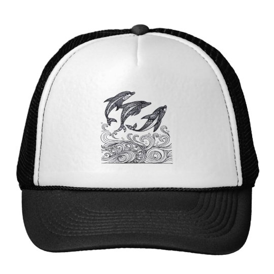 Dolphins Jumping Cap