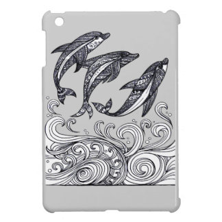 Dolphins Jumping Case For The iPad Mini