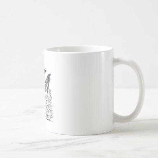 Dolphins Jumping Coffee Mug
