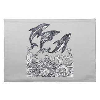Dolphins Jumping Placemat