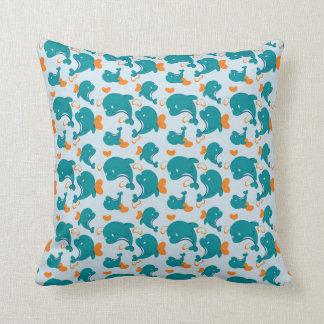 Dolphins Love Cushion