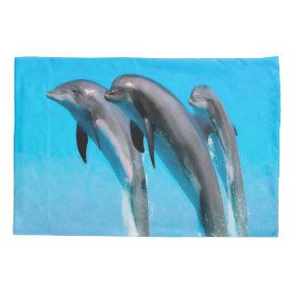 Dolphins Marine Life Ocean Pillowcase