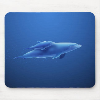 Dolphins Mouse Pad