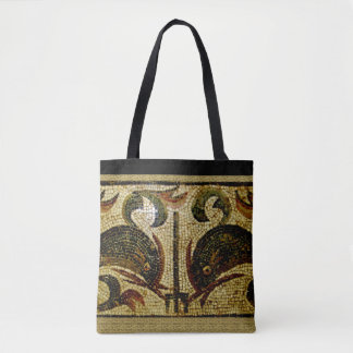 Dolphins of Pompeii Tote Bag