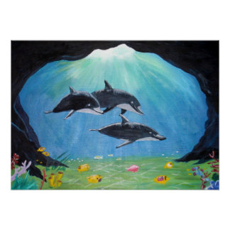 Dolphins - Print