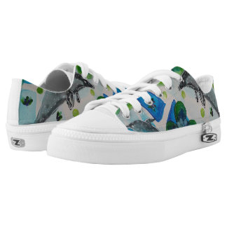 Dolphins Printed Shoes