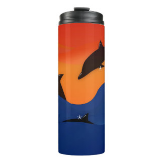 Dolphins Thermal Tumbler