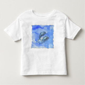 """""""Dolphins"""" Toddler Fine Jersey T-Shirt"""