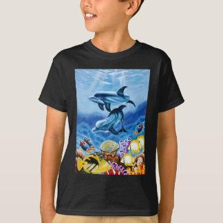Dolphins Tropical Fish Tshirt