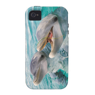 Dolphins Vibe iPhone 4 Case