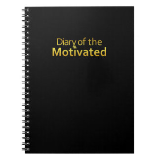 DoM - Notebook of the Motivated (Black)