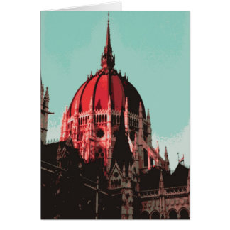 Dome, Hungarian Parliament Building Card