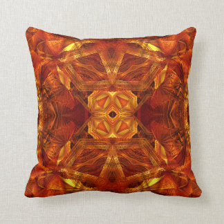 Dome Mandala (red) Pillow