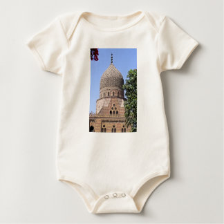 Dome of a mosque in Cairo Baby Bodysuit