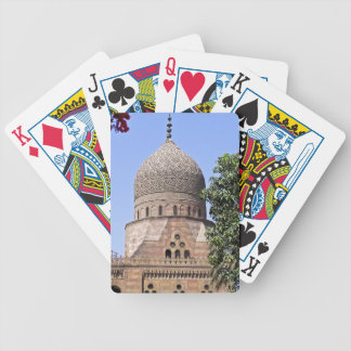 Dome of a mosque in Cairo Bicycle Playing Cards