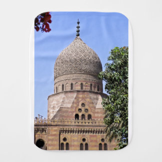 Dome of a mosque in Cairo Burp Cloth