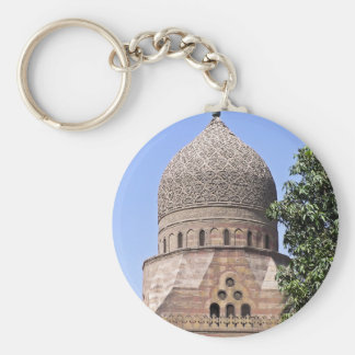 Dome of a mosque in Cairo Key Ring