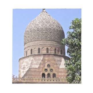 Dome of a mosque in Cairo Notepad