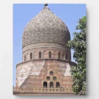 Dome of a mosque in Cairo Plaque