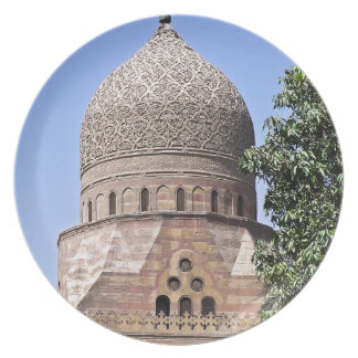 Dome of a mosque in Cairo Plates